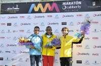 Los etíopes Girum y Bekele Bedane vencen en la IV Maratón Cabberty Málaga