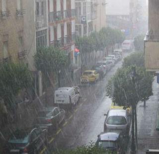 Efecto de la lluvia.