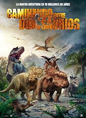 Caminando entre dinosaurios. La película - Cartel