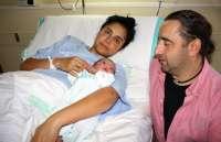 Daniela, primer bebé del año 2014 nacido en el hospital Virgen de la Luz de Cuenca