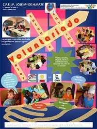 El colegio público José María Huarte incorpora el voluntariado a su programa educativo