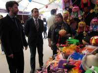 Más de 70 artesanos ofrecen sus productos en las Ferias de Reyes de Santa Cruz y La Laguna