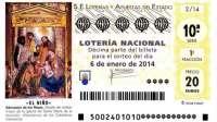 Consignados más de 192.900 billetes en Galicia para el Sorteo de El Niño 2014, con 13,81 euros por habitante