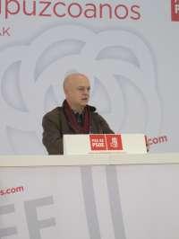 Elorza (PSOE) dice que el Gobierno central del PP se ha convertido