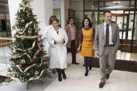 El conselleiro de Medio Ambiente acude a donar sangre e invita a la ciudadanía a realizar este acto tras la Navidad