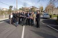 Inaugurada la mejora de la carretera entre Miengo y Bárcena de Cudón