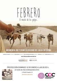 El documental 'Febrero, el miedo de los galgos' se estrena este domingo en Badajoz