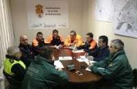 Saturnino Corchero participa en Moraleja en la reunión de coordinación de la emergencia por el desbordamiento de cauces