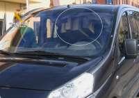 Sorprendido en Burgos un conductor sin carné y con el coche lleno de bultos que dificultaban su conducción