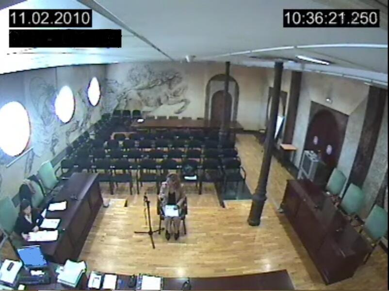 Ana Garrido en su declaración ante el juez que investiga la trama Gürtel.