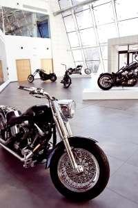 Museo Würth acoge desde este sábado y hasta el 30 de marzo una exposición formada por 12 motos 'choppers' y 'bobbers'