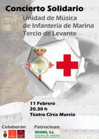 La Unidad de Música de Infantería de Marina ofrece el martes un concierto benéfico en el Teatro Circo de Murcia