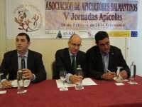 El presidente de la Diputación de Salamanca destaca la miel de