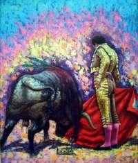 Una exposición de láminas taurinas sobre el diestro Curro Romero llega al Museo 'González Santana' de Olivenza