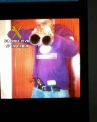 Detenido al circular por redes sociales una imagen suya con una escopeta y una frase intimidatoria