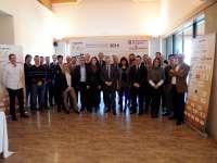 La alcaldesa de Logroño asiste a la constitución del 'Club de empresas' de apoyo a la Ciudad Europea del Deporte