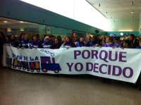 Soraya Rodríguez destaca el papel de las mujeres asturianas en la lucha contra la reforma de la ley del aborto