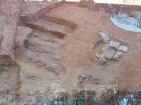 Trabajos arqueológicos elevan a once los enterramientos localizados en la Segunda Aguada de Cádiz