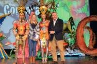 Los concursos de Trajes de Papel y Maquillaje Corporal muestran la originalidad del Carnaval de Águilas
