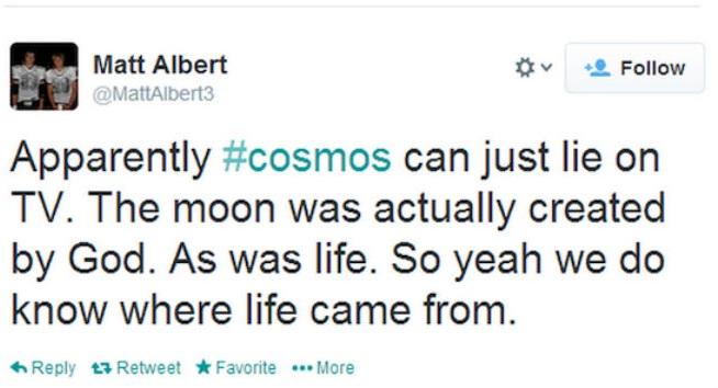 Tuits sobre Cosmos.
