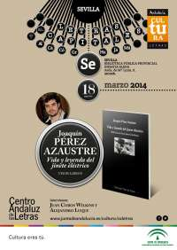 El poeta Joaquín Pérez Azaustre presenta este martes su libro 'Vida y leyenda del jinete eléctrico'
