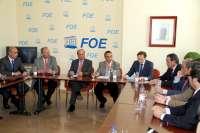 Caraballo se reunirá este viernes con sindicatos porque la situación de Ence en Huelva es