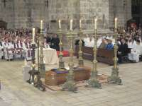 Valladolid despide a su arzobispo emérito en una ceremonia con presencia de 26 prelados y 140 sacerdotes