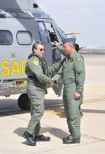 AMP-El jefe del Estado Mayor del Aire viaja a Canarias para seguir la búsqueda del helicóptero y se reúne con familiares
