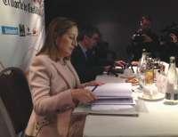 Pastor garantiza el soterramiento en Valladolid y señala que se acometerá la venta de terrenos y la obra a la vez