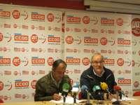 UGT y CC.OO. harán 9 manifestaciones el 1 de mayo en Galicia por