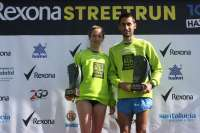 Estela Navascués y Pablo Rodríguez se imponen en la Rexona Street Run 10km Valladolid