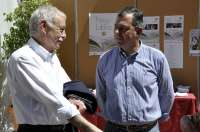 Eduardo Mendoza pone fin a la Feria del Libro de Tomares