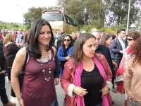 Centenares de personas exigen en Arbo (Pontevedra) un cambio de trazado en la línea de alta tensión