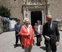 La infanta Pilar de Borbón visita la exposición 'El griego de Toledo'
