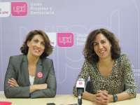 Irene Lozano (UPyD) anima a los murcianos a votar a UPyD para