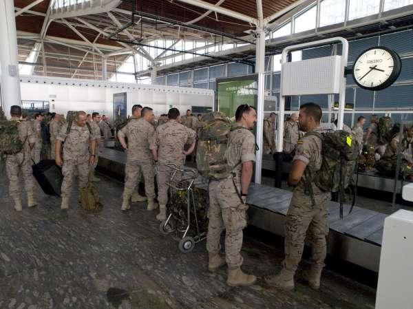 Un total de 31 militares regresan de Afganistán tras más de seis meses de misión internacional