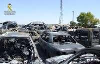 La Guardia Civil detiene a un joven de Herrera por cinco delitos de daños por incendios