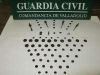 El Seprona imputa en Valladolid a dos 'piteros' por el expolio de piezas arqueológicas
