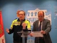 Unos cien policías velarán por la seguridad en Cáceres por el concierto de Extremoduro y la celebración de la Champions