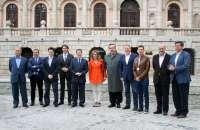 García-Page acompaña a Carme Chacón, Belloch y Martínez en su visita a Toledo con motivo del 'Año Greco'