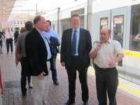 El PSPV pedirá al Banco Europeo de Inversiones 100 millones para poner en servicio la línea de tranvía T2 de Valencia