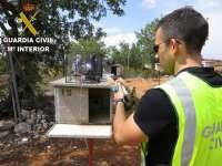 La Guardia civil recupera 30 palomos de competición de gran valor sustraídos en turís