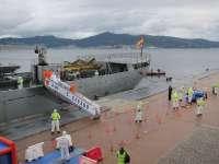 El Puerto de Vigo acoge por primera vez en España un simulacro de emergencias de riesgo biológico y radiactivo