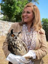María Jesús Serrano defiende la necesidad de los CREA andaluces, que atienden a 4.800 ejemplares de especies amenazadas