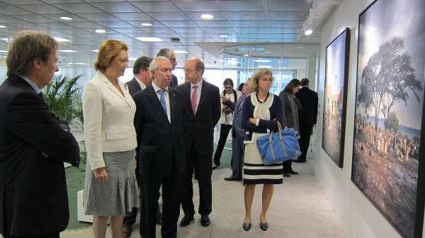 DKV inaugura en Zaragoza su nueva sede central en España, que simboliza su consolidación en Aragón y en el país