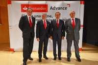 Banco Santander destina 1.500 millones de crédito a las pymes vascas con su programa 'Santander Advance'