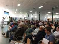 Unos 350 profesionales del ovino participan en unas jornadas en Castuera para analizar las perspectivas del sector