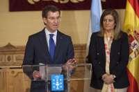 Báñez y Feijóo firman un convenio para luchar contra el empleo no declarado que