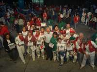 Del Río entrega las placas conmemorativas a las 30 peñas riojanas participantes en la Concentración de Peñas 2014