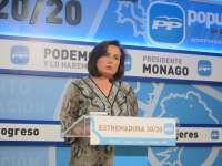 El PP resalta que las perspectivas económicas para Extremadura lanzan un mensaje de